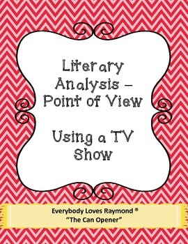 Literary Analysis - Using a TV Show
