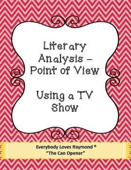 Literary Analysis - Using a TV Show