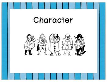Literary Analysis Vocabulary Posters