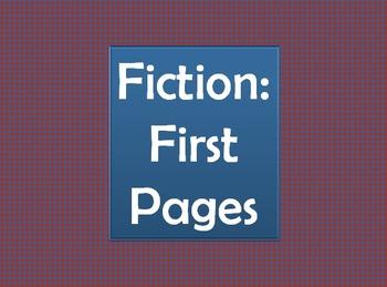 Literary Analysis Worksheet