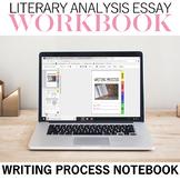 Literary Analysis Writing Process Notebook