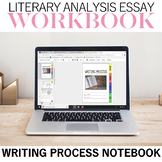 Literary Analysis Writing Process Notebook