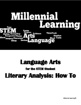 Literary Analysis and Open-End Responses How-to Unit