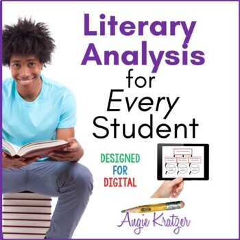 Literary Analysis for Every Student {PDF and Google Slides}