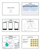 Literary Analysis  - middle school theme characterization