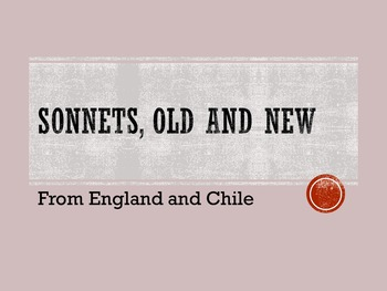 Literary Analysis through Anglo and Latino Sonnets