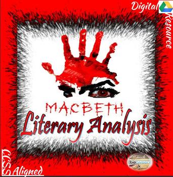 Shakespeare's Macbeth: Literary Analysis Complete Unit