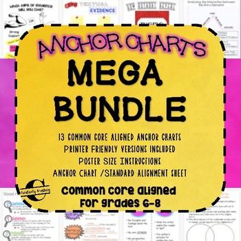 Literary Anchor Charts: MEGA BUNDLE