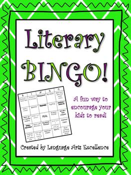 Literary Bingo!