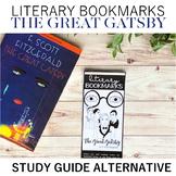 Literary Bookmarks The Great Gatsby: Activity Reading Activity