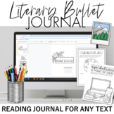Literary Bullet Journal/ Reading Journal for Any Text