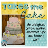 Literary Cake Project: Creative Assessment for Any Literary Work