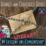 Literary Censorship and Banned Books Lesson Mini Unit