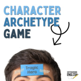 Literary Character Archetype Game