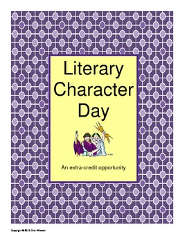 Literary Character Day