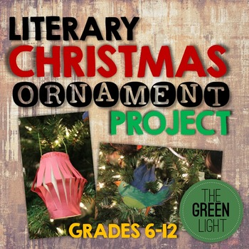 Literary Christmas Ornament Project, Symbolism Christmas Tree