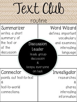 Literary Circles-Text Clubs