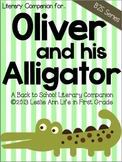 Literary Companion for Oliver and His Alligator: A Back to School Activity
