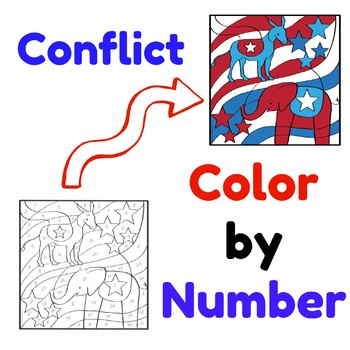 Literary Conflict Color by Number