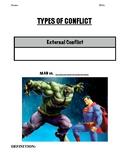 Literary Conflict Graphic Organizer