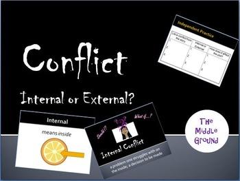 Literary Conflict Internal External