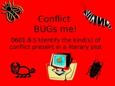 Literary Conflict PPT, game, and assessment activity!
