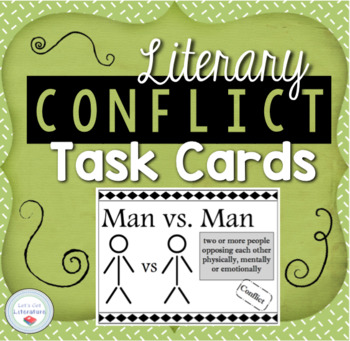 Literary Conflict Task Cards