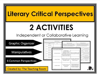 Literary Theory - Critical Perspectives Activity