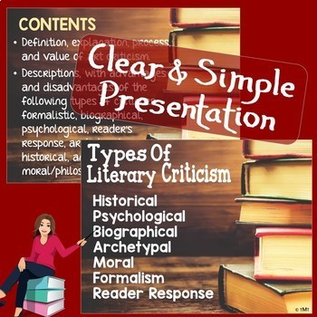 Literary Criticism - Literature Review How-to Lesson & Worksheet - Editable