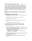 Literary Criticism Essay and Presentation Summative Assessment