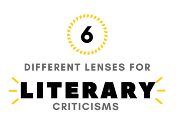 Literary Criticism Lens Bookmark