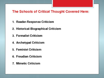 historical and biographical criticism