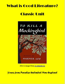 Literary Critique: What is a Classic?