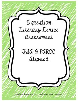 Literary Device Assessment