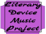 Literary Device Music Project