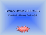 Literary Device PowerPoint Game