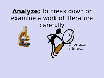 Literary Device Review PowerPoint