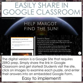 Literary Devices Breakout Room (Escape Room) for Grades 6-10
