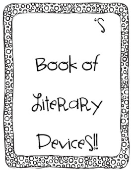 Literary Devices Bundle