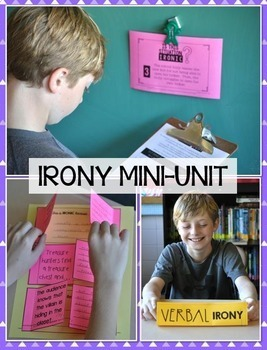 Literary Devices Bundle:  6 Fun Mini-Units to Teach Critical Literary Elements