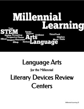 English Literary Devices Centers