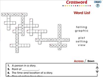 Literary Devices: Crossword - MAC Gr. 3-8