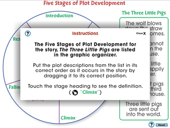 Literary Devices: Five Stages of Plot Development - NOTEBOOK Gr. 3-8
