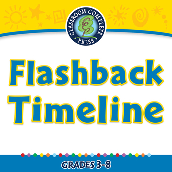 Literary Devices: Flashback Timeline - NOTEBOOK Gr. 3-8
