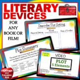 Literary Devices Google Classroom Distance Learning