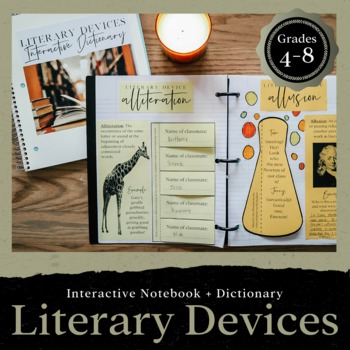 Literary Devices Interactive Dictionary: Exploring Figurative Language