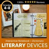 Literary Devices Interactive Dictionary: Exploring Figurative Language + Digital