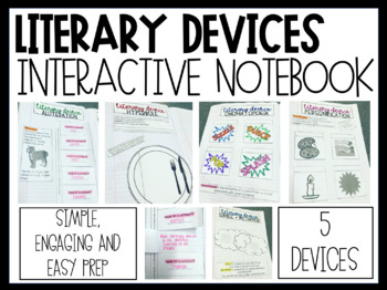 Literary Devices Interactive Notebook