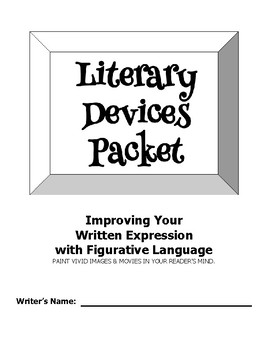 Literary Devices Packet
