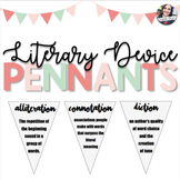 Literary Devices Pennant